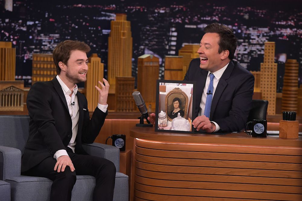 "Daniel Radcliff Visits ""The Tonight Show Starring Jimmy Fallon"""